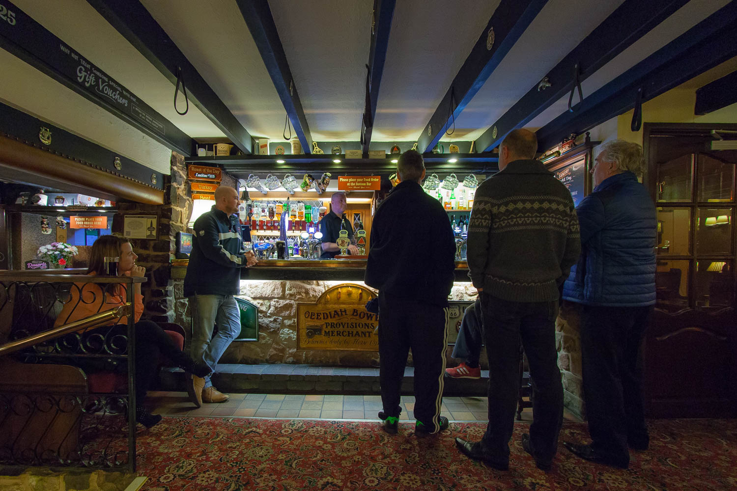 food and drink at the travellers rest